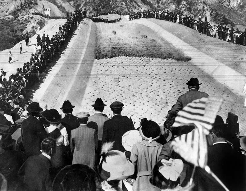 Dedication of L.A. Aqueduct.