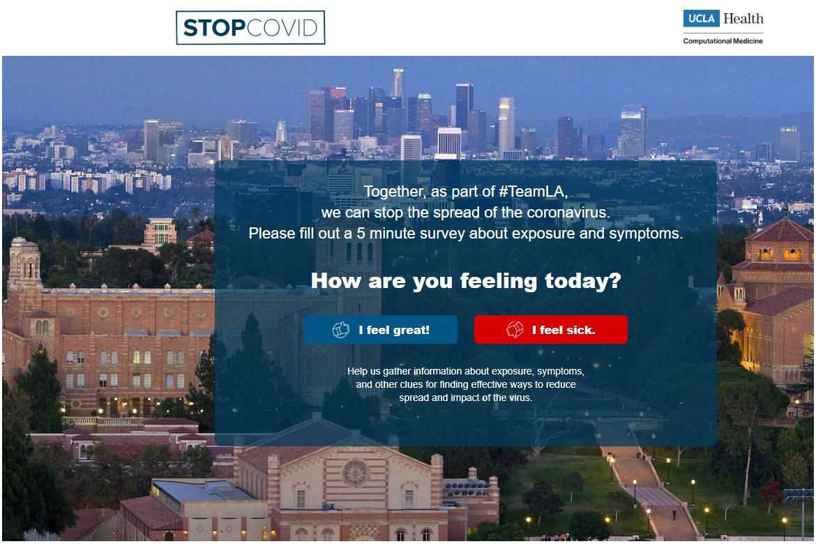 Stop Covid-19 Together website