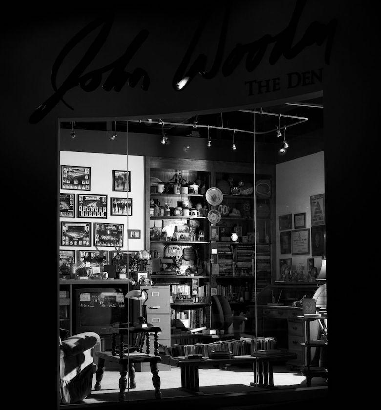 John Wooden Den at UCLA Athletic Hall of Fame