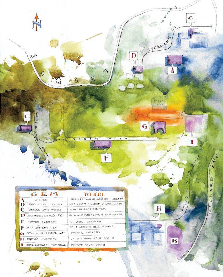 Hidden Gems Map