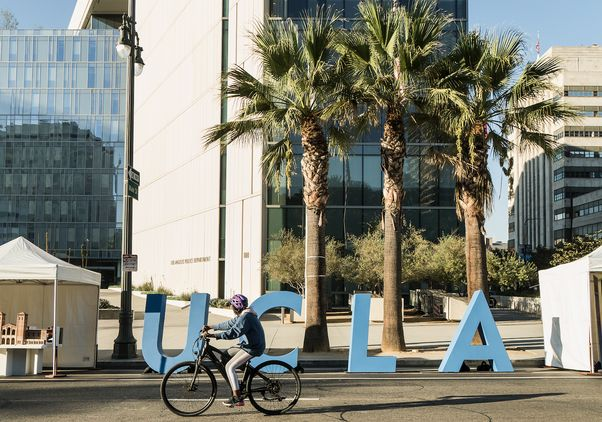 CicLAvia: Heart of L.A., Celebrating 100 Years of UCLA
