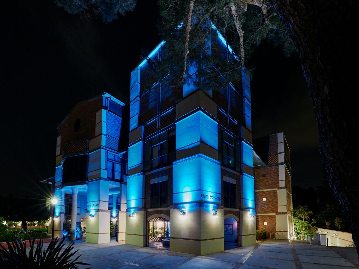 LightItBlue - Covel Commons
