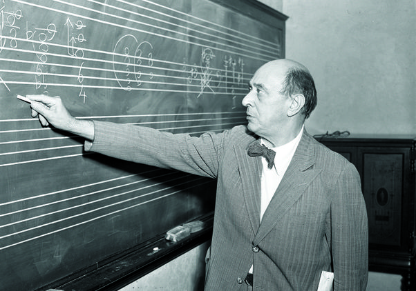 Click to open the large image: Arnold Schoenberg