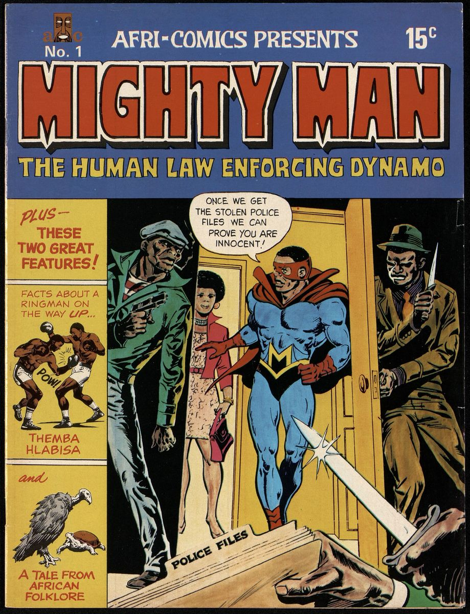 Mighty Man: The Human Law Enforcing Dynamo, No. 1