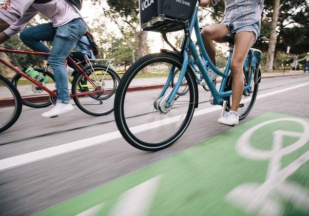 Campus bike route