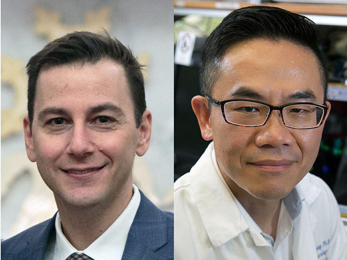 Dr. Vatche Agopian and Hsian-Rong Tseng