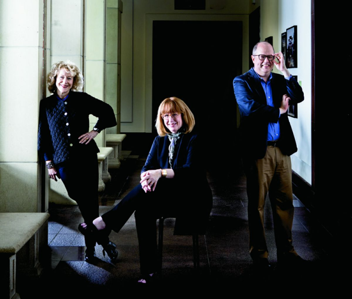 Marla Berns, Cindy Burlingham and Matthew Robb