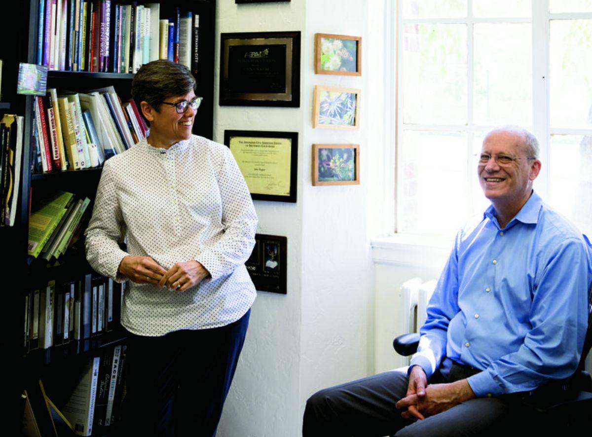 Megan Franke and John Rogers