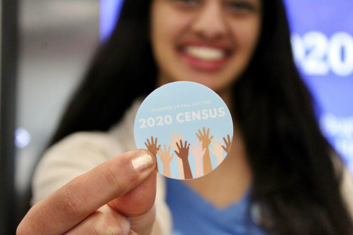 Census Sticker