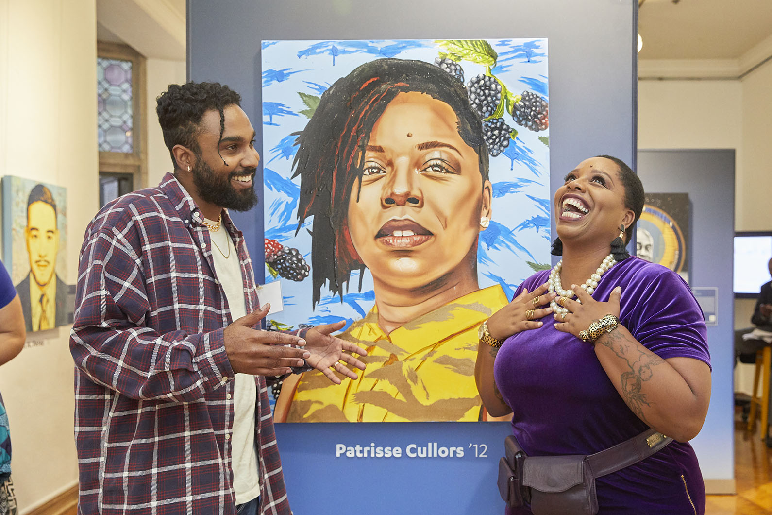 Gabe Gault and Patrisse Cullors
