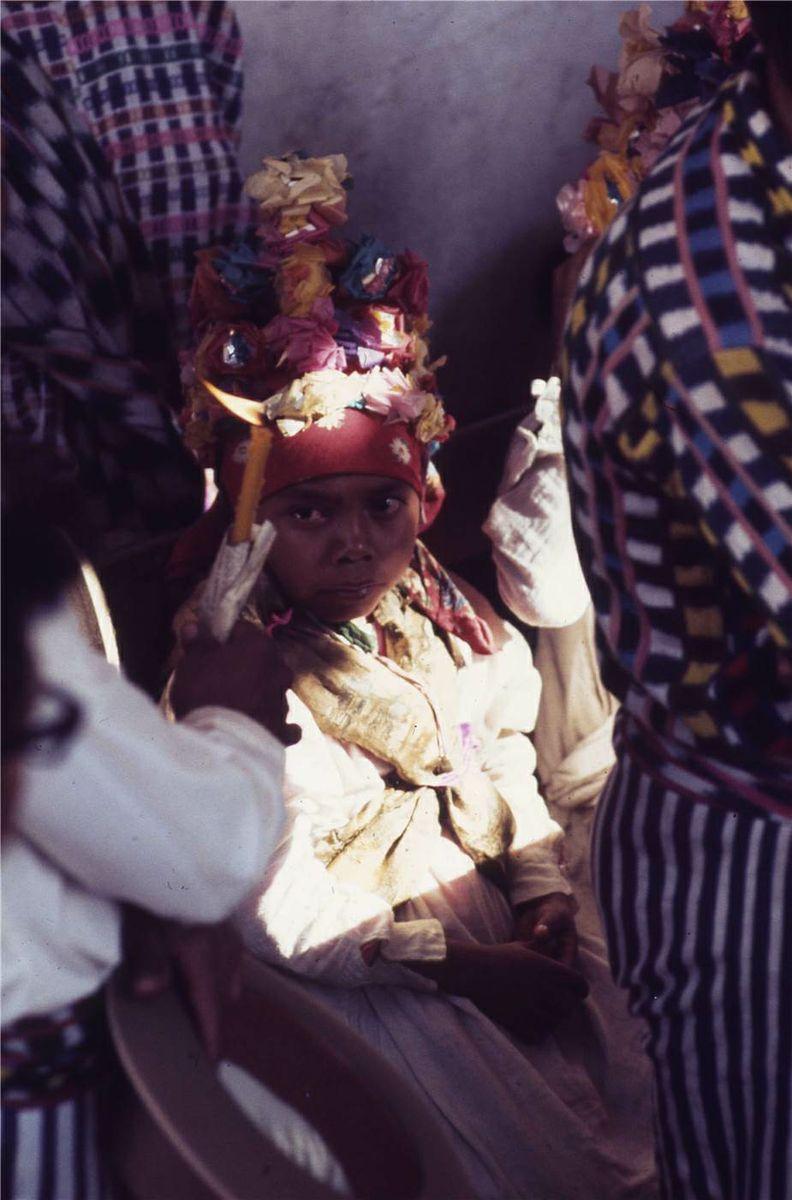 Mayan Boy During Semana Santa