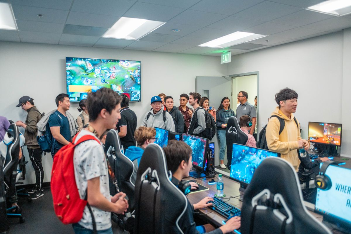 UCLA Esports Training Center