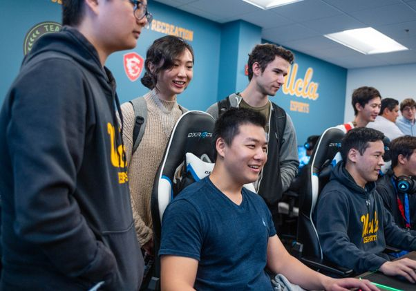 UCLA's Esports Training Center