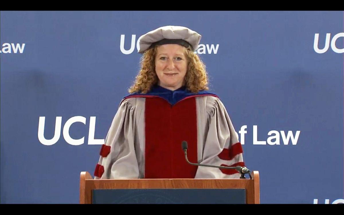 Jennifer Mnookin UCLA Law commencement 2020