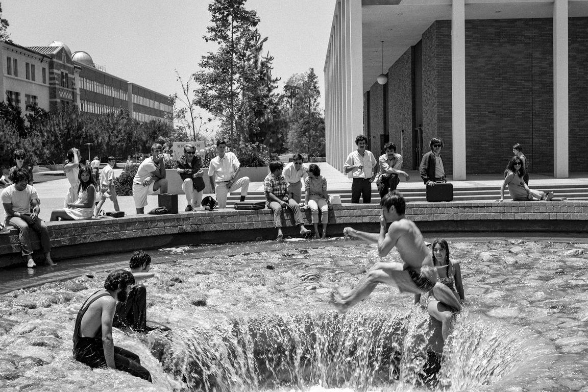 The Inverted Fountain circa 1975