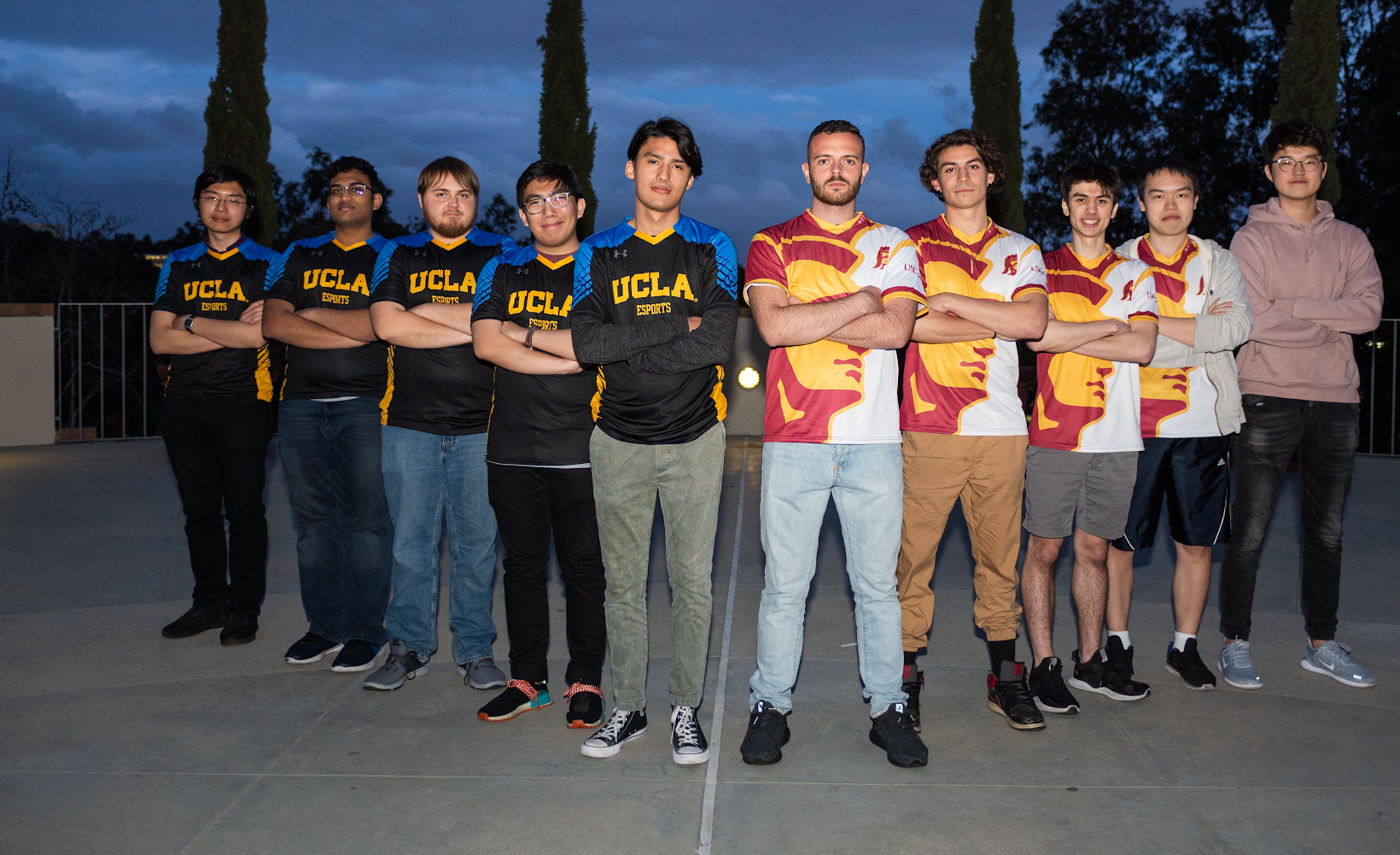 UCLA and USC esports teams