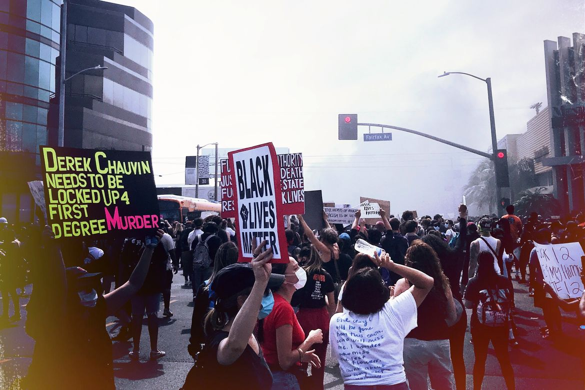 L.A. protest for George Floyd