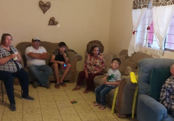 Relatives in Mexico