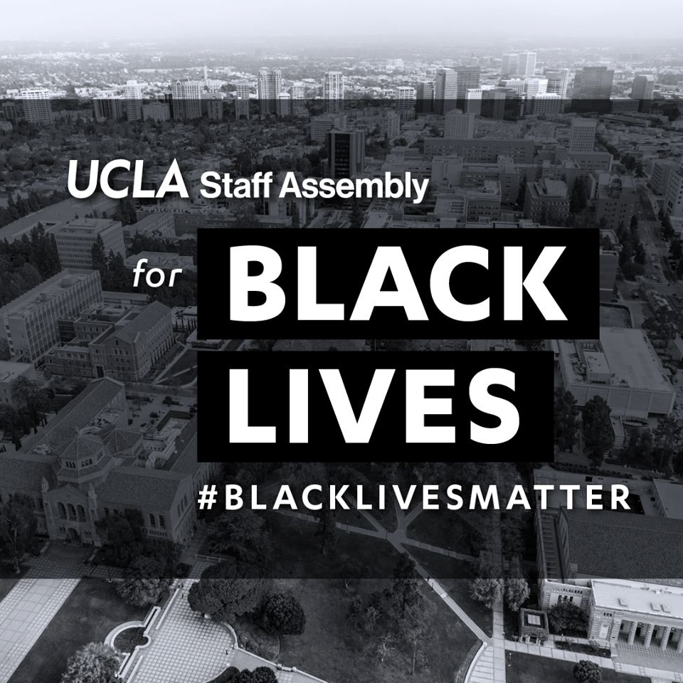 Staff Assembly for Black lives