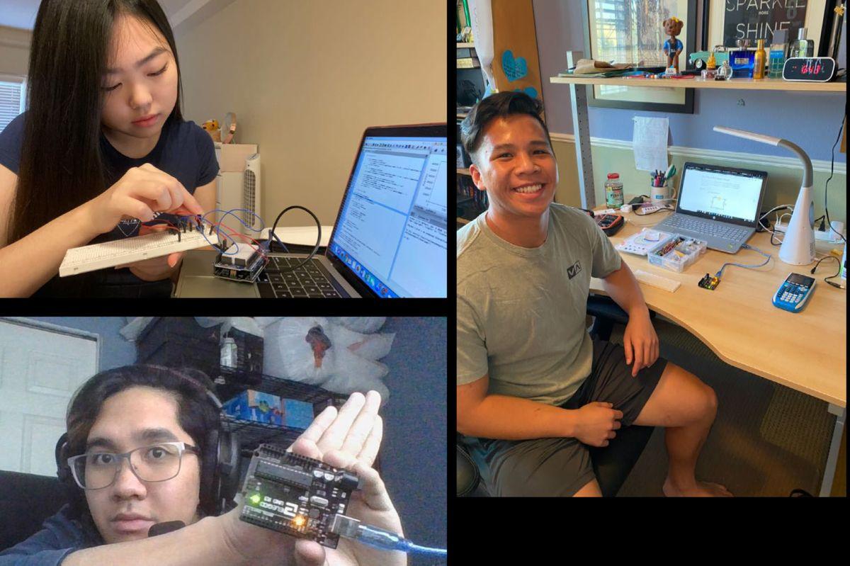 Physics labs at home