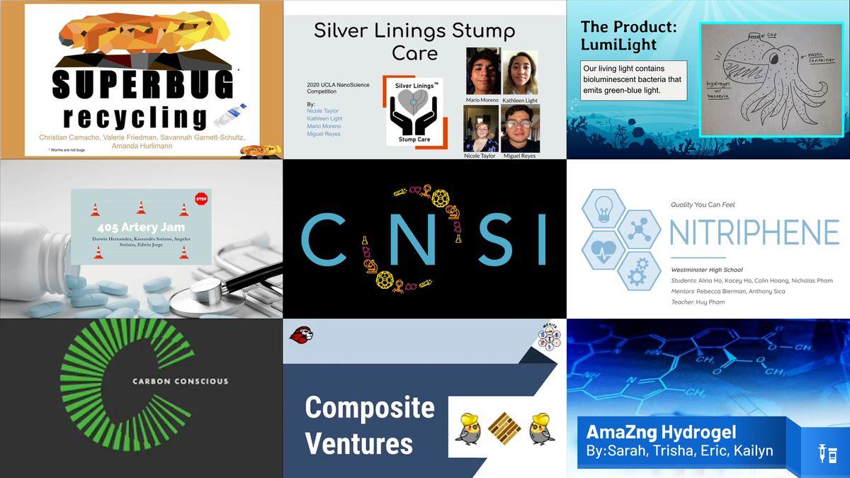 CNSI Nanovation collage