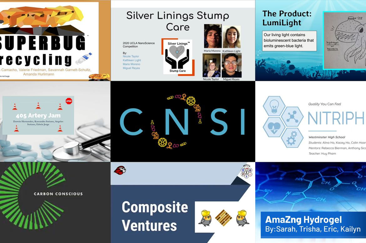 CNSI Nanovation collage