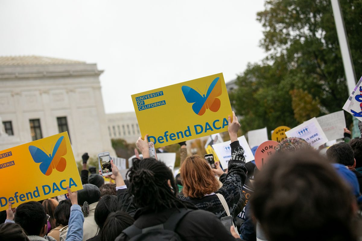 University of California at Supreme Court for DACA decision