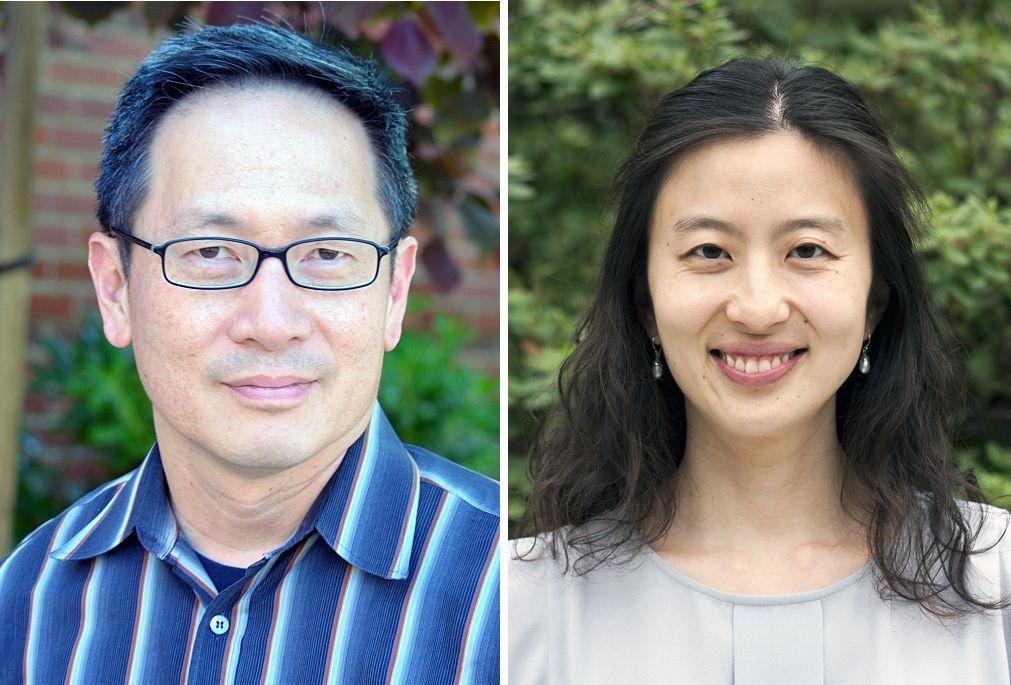 Gerard Wong and Melody Li