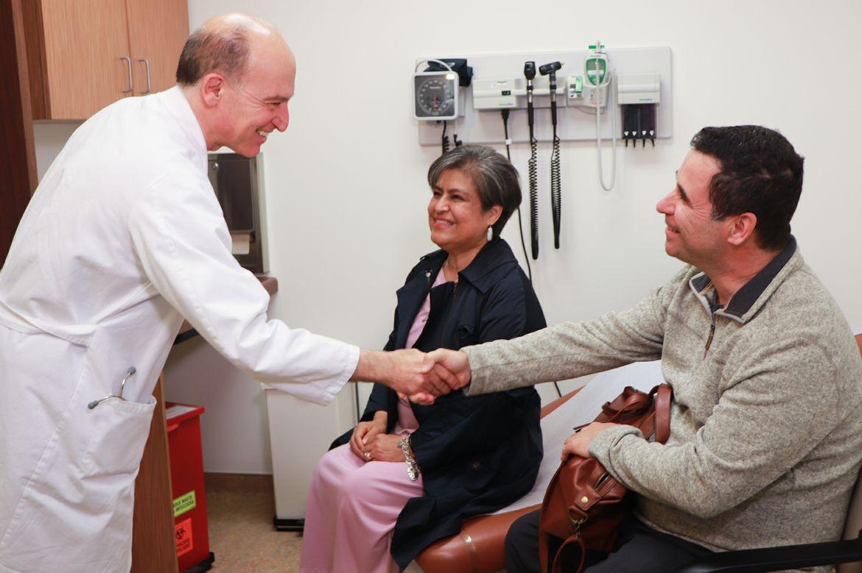 Merianos family with Dr. Ardehali