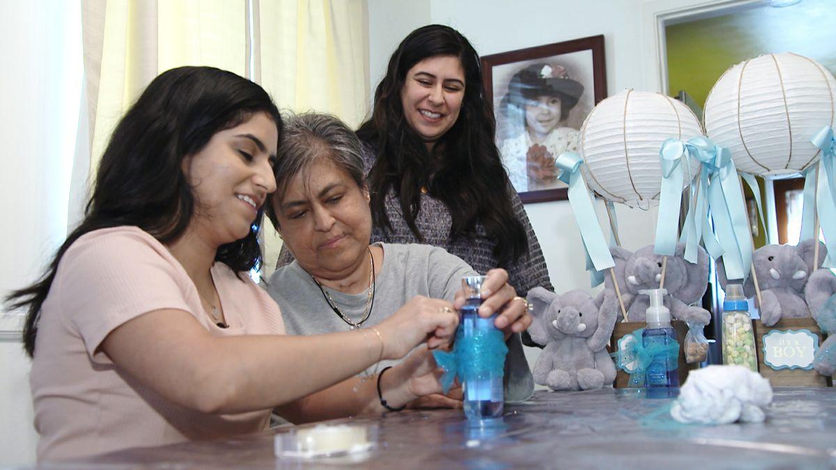 Miriam Merianos at home