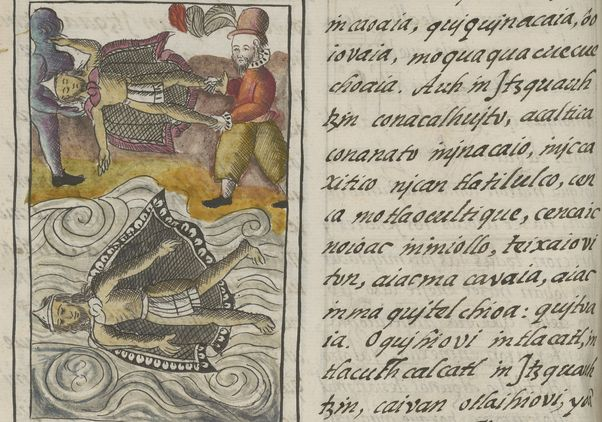 Click to open the large image: Death of Montezuma