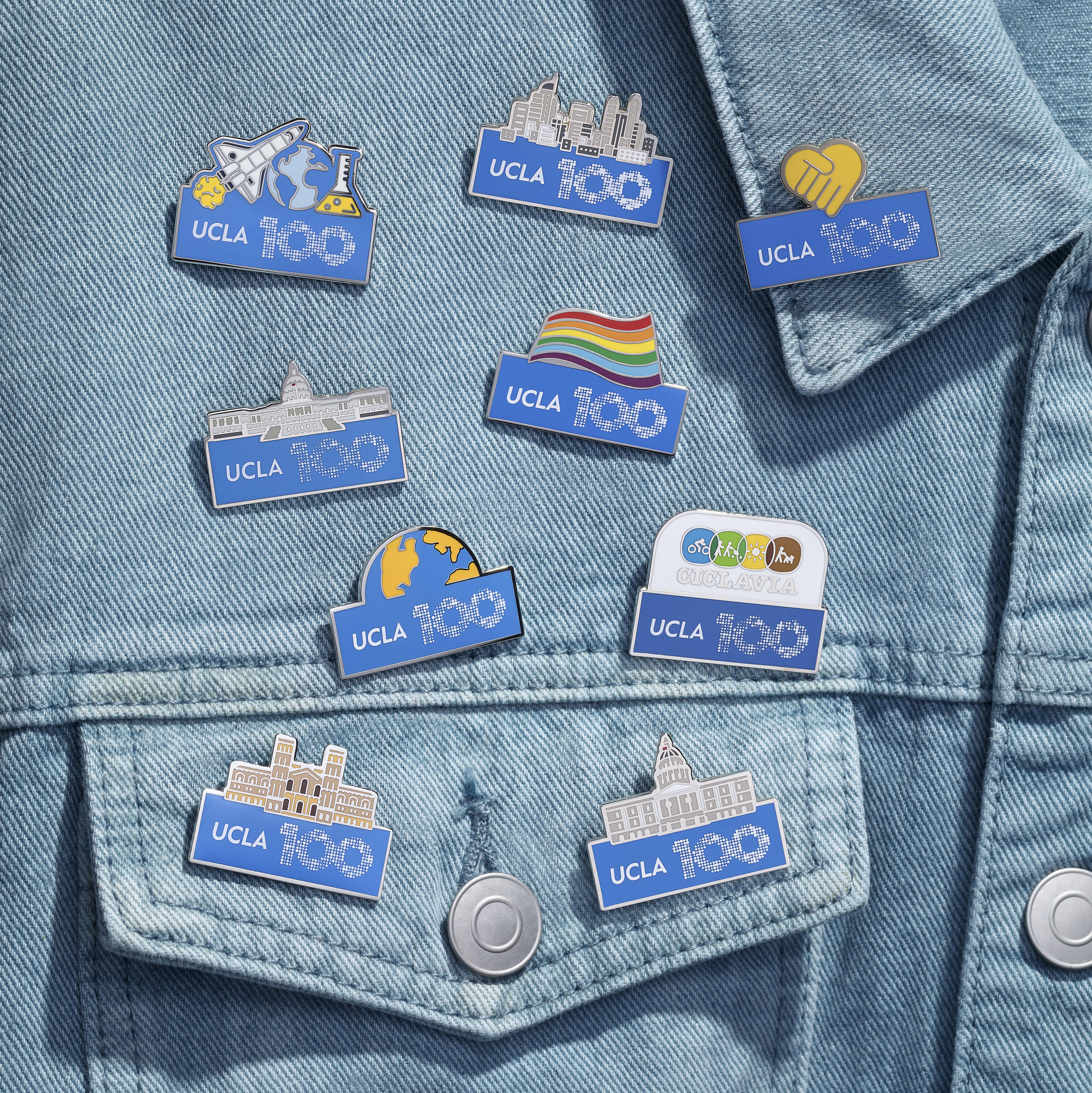 UCLA Centennial Pins