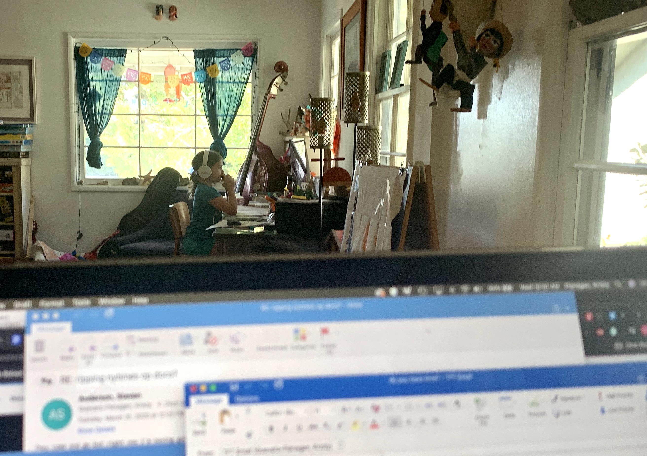 Kristy Guevara-Flanagan - home office