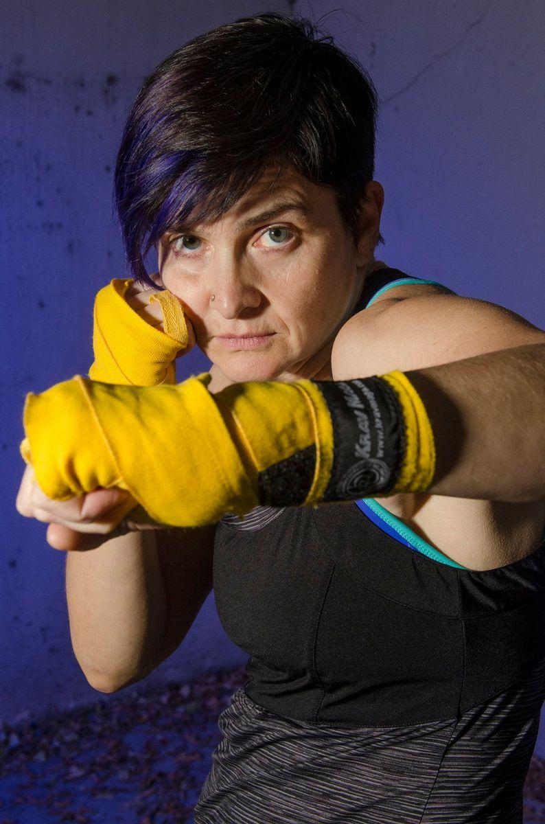 Janet O'Shea boxing