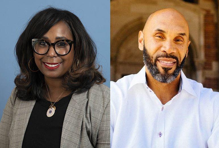 Dr. Eraka Bath and Darnell Hunt