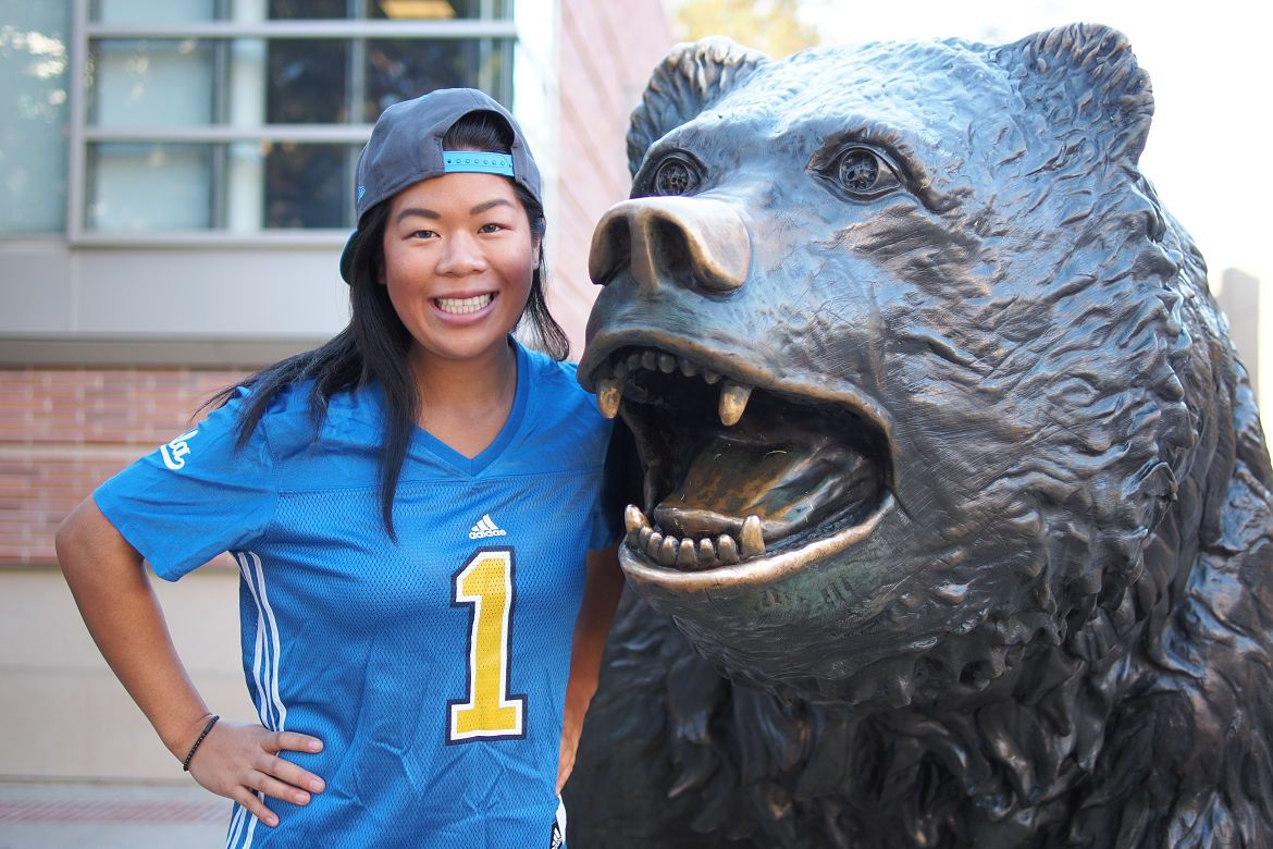 Lucy Tseng and Bruin