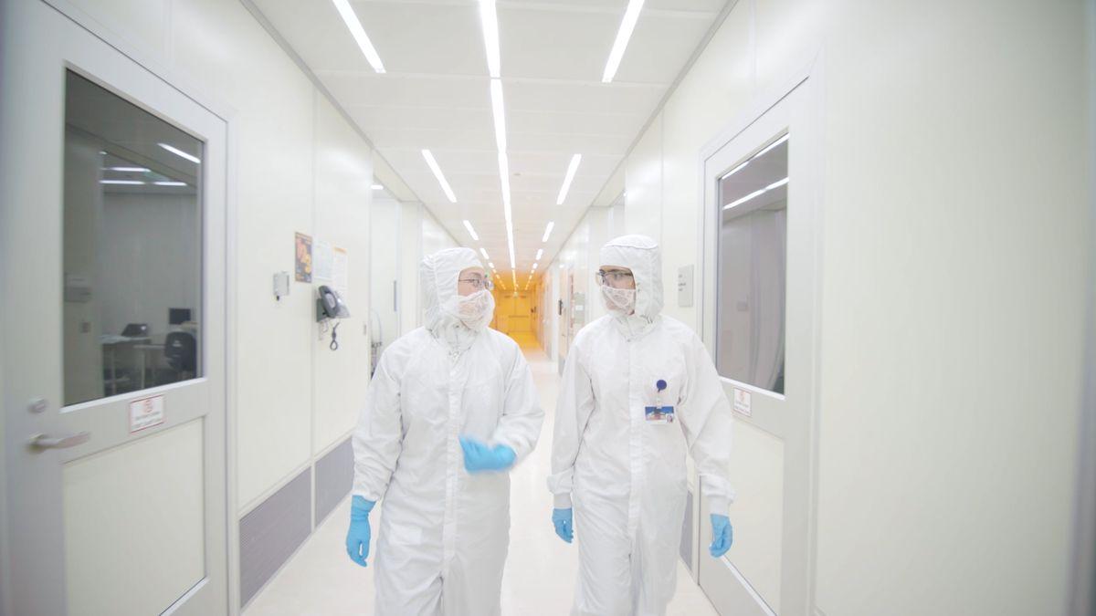 Nanolab corridor