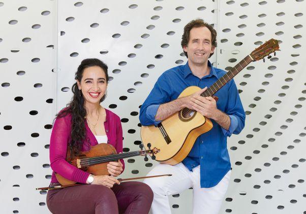 Shabnam Fasa and Julius Reder Carlson