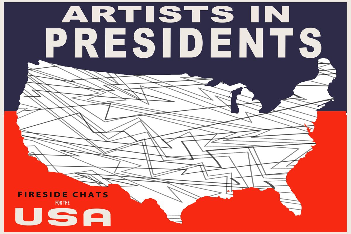 Artists in Presidents poster