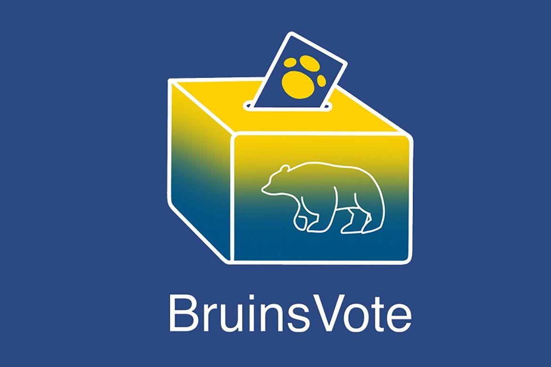 Bruins Vote ballot box