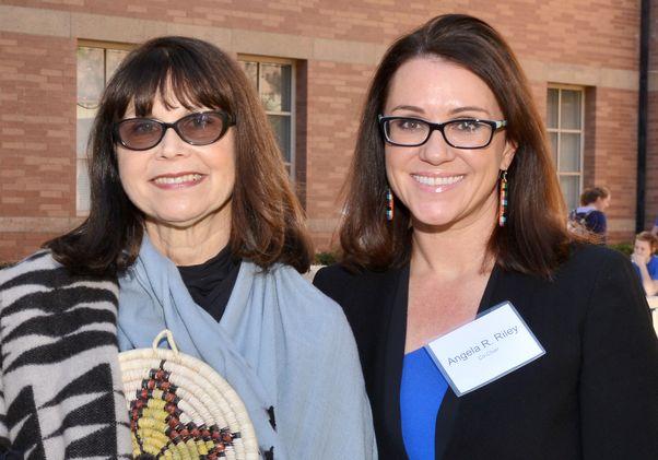 Carole Goldberg and Angela Riley