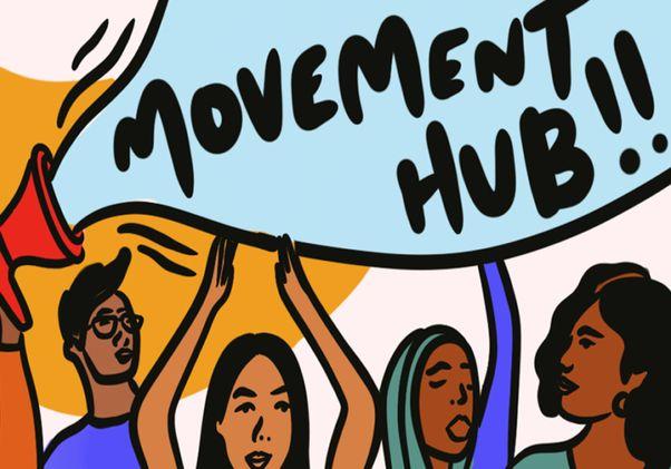Movement hub illustration