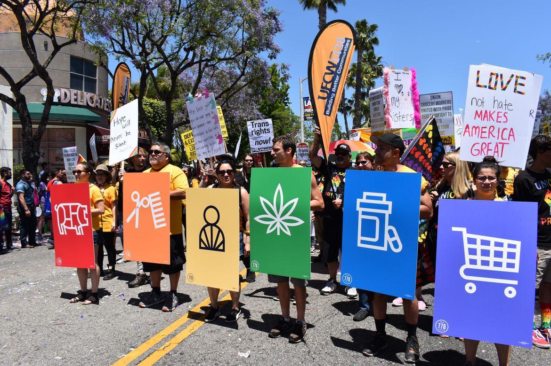 LGBTQ march