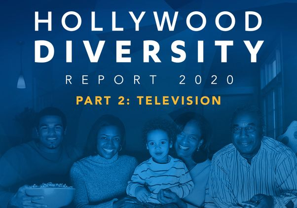Click to open the large image: 2020 Hollwyood Diversity Report cover art