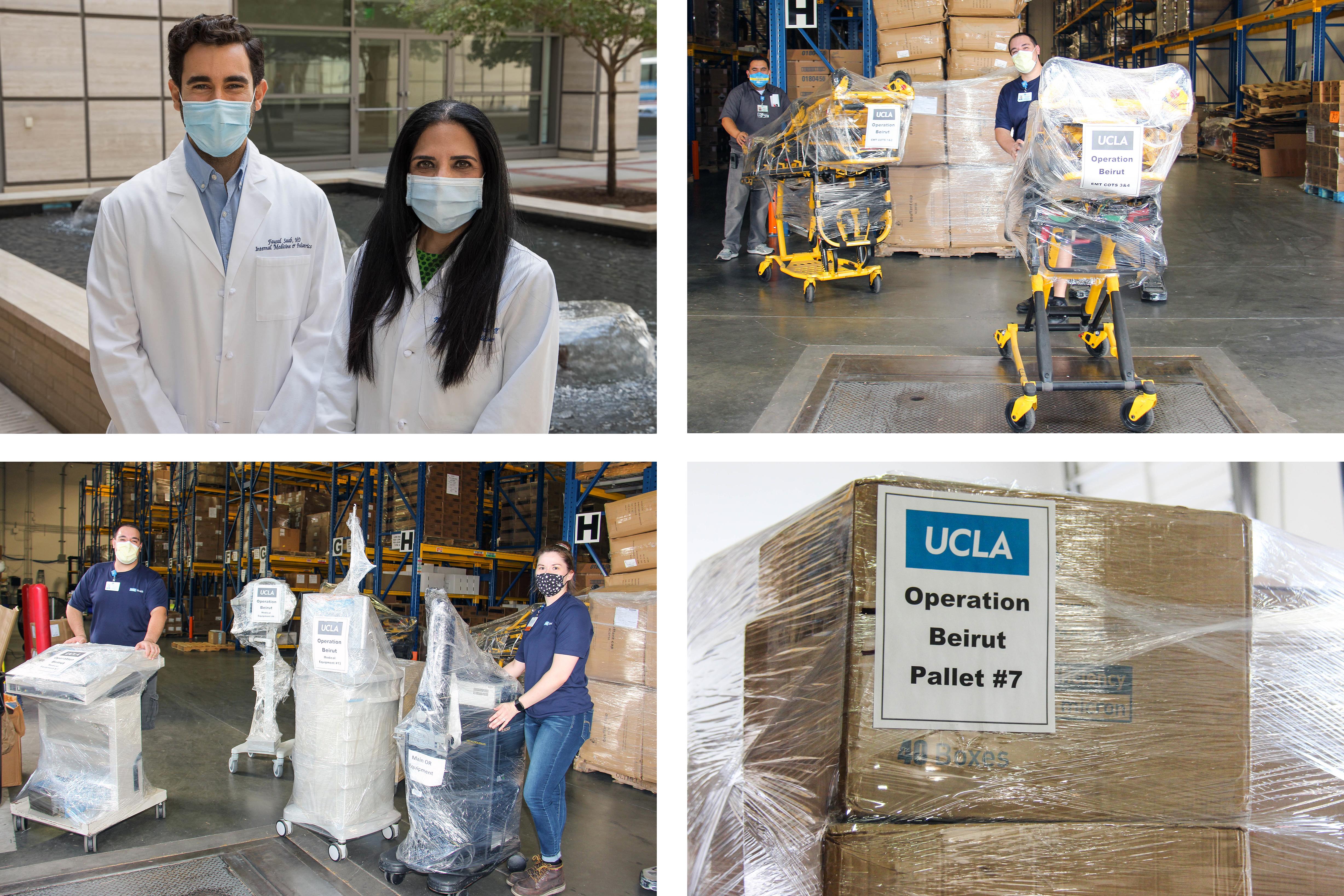 Operation Beiruit humanitarian donations