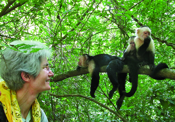 Susan Perry and capuchin monkeys