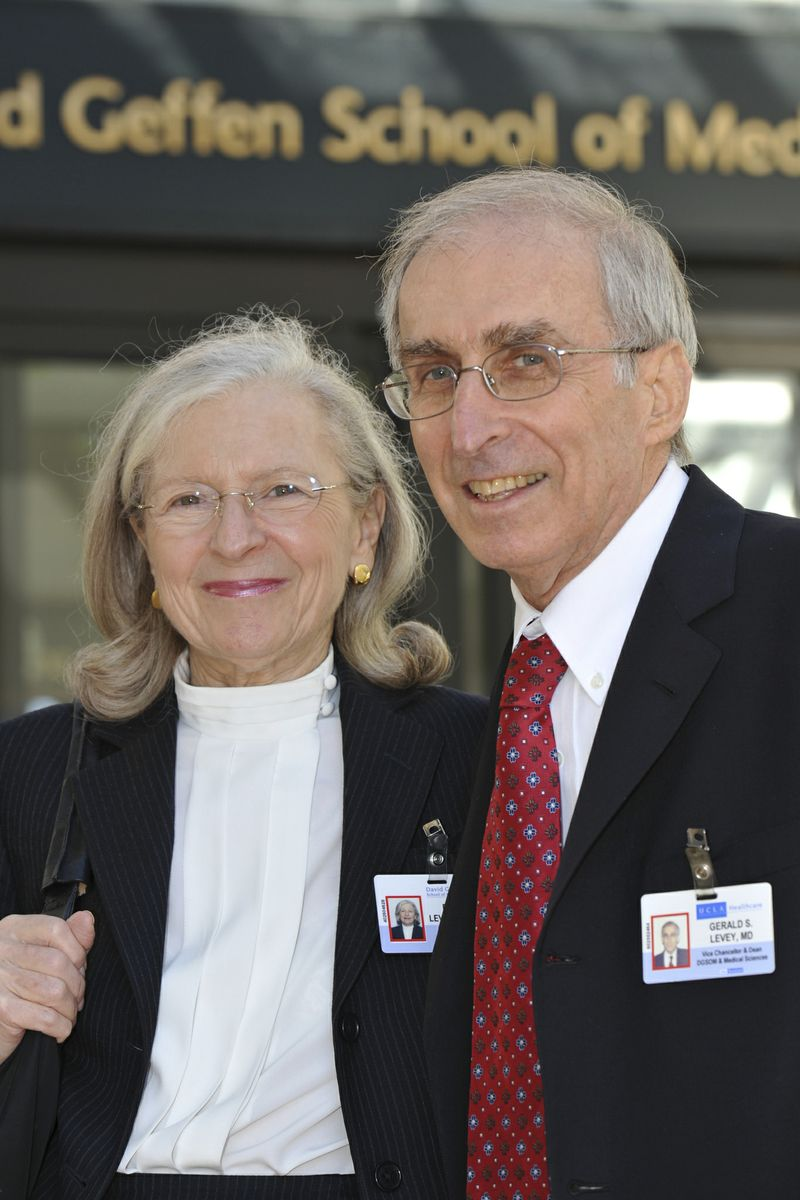 Drs. Gerald and Barbara Levey