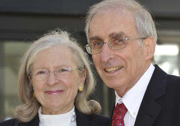Click to open the large image: Drs. Gerald and Barbara Levey