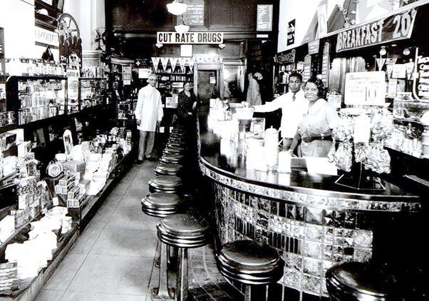Albert Baumann's pharmacy