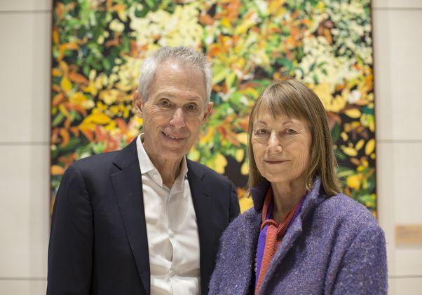 Howard and Astrid Preston